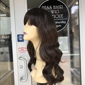 Ombré brown mocha deep Wave Wig